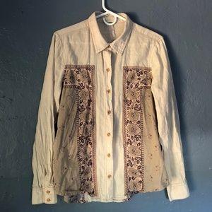 Free People Linen Shirt